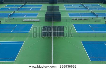 Tennis, Tennis Court, Bench, Net, Courts, Benches