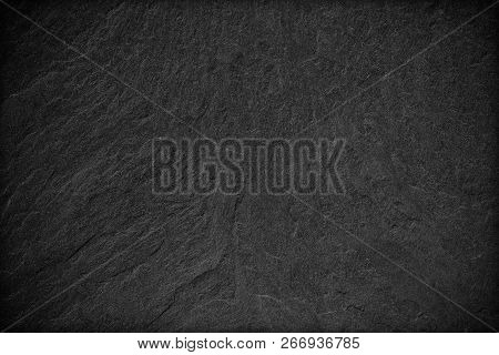 Dark Grey Black Slate Background Or Texture.; Black Stone
