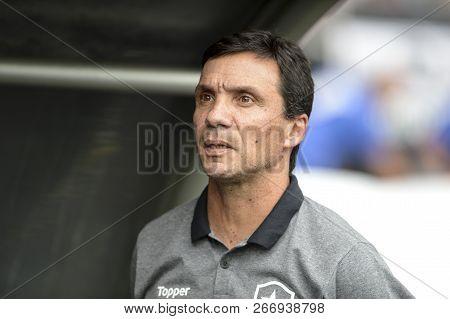 Rio, Brazil - November 04, 2018: Ze Ricardo Coach In Match Between Botafogo And Corinthians By The B
