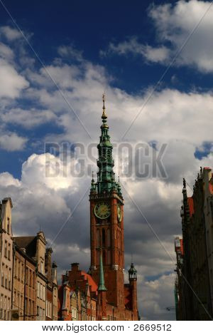 Towers In Gdansk