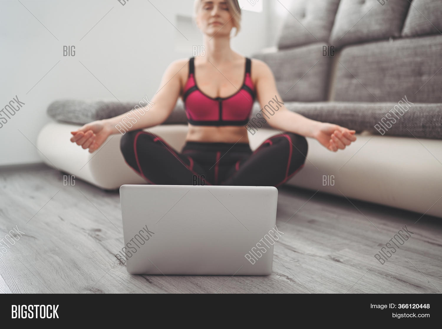 Fit Young Woman Image & Photo Free Trial   Bigstock