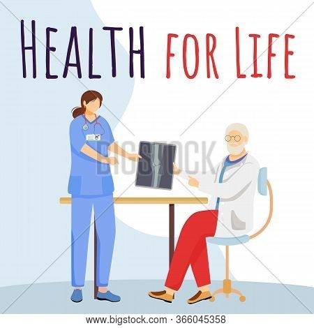 Health For Life Social Media Post Mockup