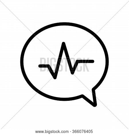 Strain Of Thoughts Icon Vector. Strain Of Thoughts Sign. Isolated Contour Symbol Illustration