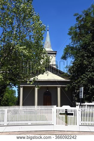 Methodist Church At Old Washington