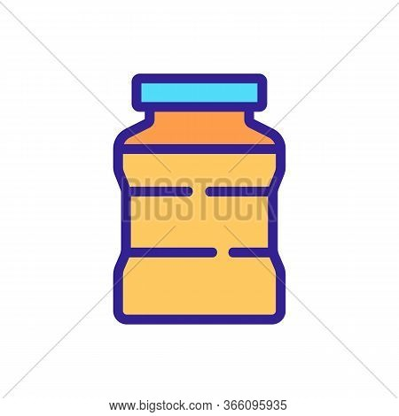 Variety Of Cans For Preserving Icon Vector. Variety Of Cans For Preserving Sign. Color Symbol Illust