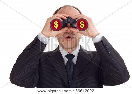 Astonished Businessman