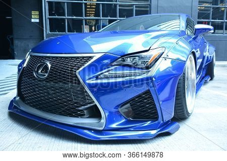 Taguig, Ph - July 13 - Lexus Rcf On July 13, 2019 In Bonifacio Global City, Taguig, Philippines.