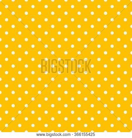 Polka Seamless.paper Art Polka Dot Pattern For Decoration Design