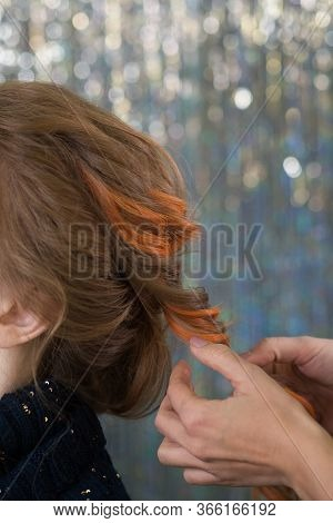 Hairdressing Services. Creation Of Evening Hairstyles Fashionable Stylish Womens Hairstyles. Hair St