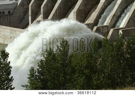 Ghost Hydroelectric Dam