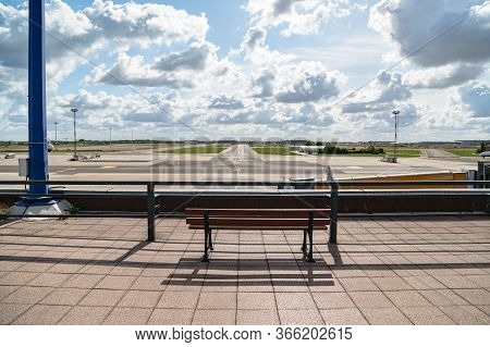 View Of Empty Airfield From Place To Rest