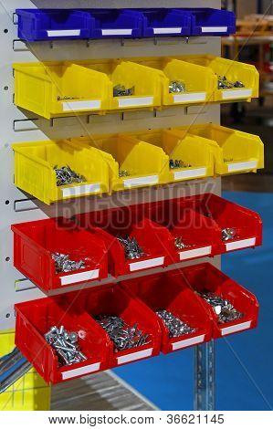 Sorting Parts Bins