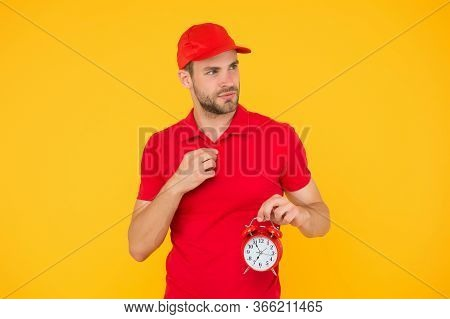 Tik Tok. Round-the-clock Relocation Work Management. Around The Clock Service. Day And Night Deliver