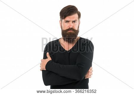 You Will Look Unkempt While Waiting For Beard Grow. Have Patience To Keep Beard Untouched. Hipster A