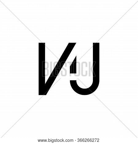 Initial Letter Nj Logo Design Vector Template. Creative Abstract Nj Letter Logo Design