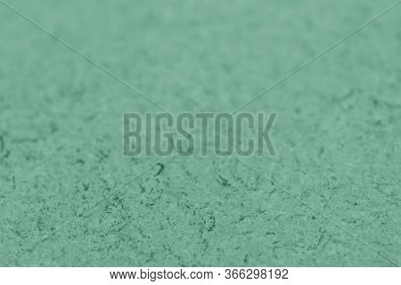 Beautiful Biscay Green Craft Paper Background. Top View.