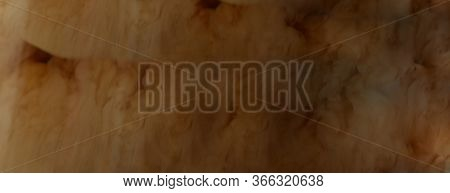 Ice Coffee Texture Background. Fresh Drink, Close Up