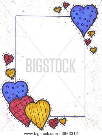 Border Heart Cluster