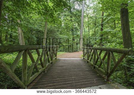 Garden Tete D Or Parc De La Tete Dor In Lyon, France. Garden Named By Gold Head For Tresor. Park Of