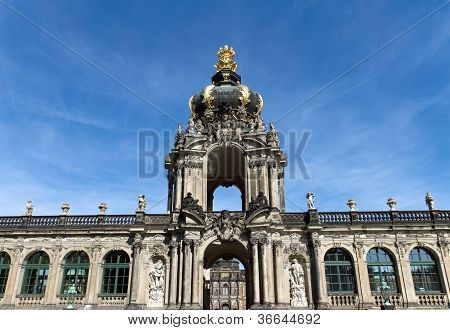 Entrance to the Zwinger