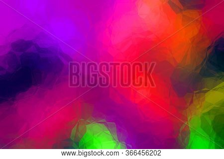 Fashion Party Abstract Backdrop With Crystalline Surface Concept - Creative Design Background Illust