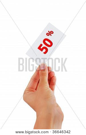 Label Discount
