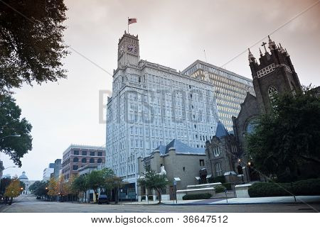 Downtown Of Jackson, Mississippi