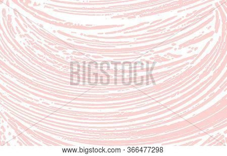 Grunge Texture. Distress Pink Rough Trace. Flawless Background. Noise Dirty Grunge Texture. Creative