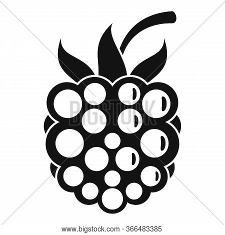 Natural Blackberry Icon. Simple Illustration Of Natural Blackberry Vector Icon For Web Design Isolat