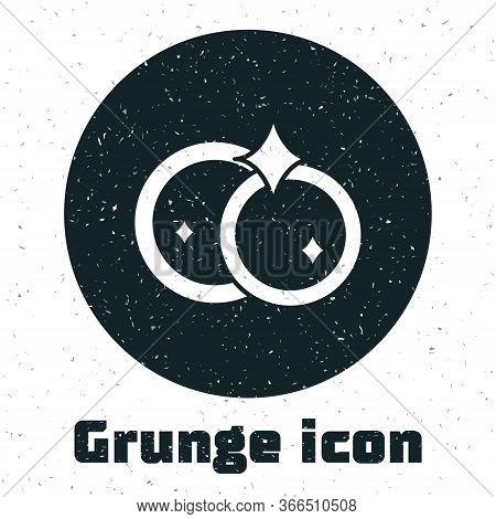 Grunge Washing Dishes Icon Isolated On White Background. Cleaning Dishes Icon. Dishwasher Sign. Clea