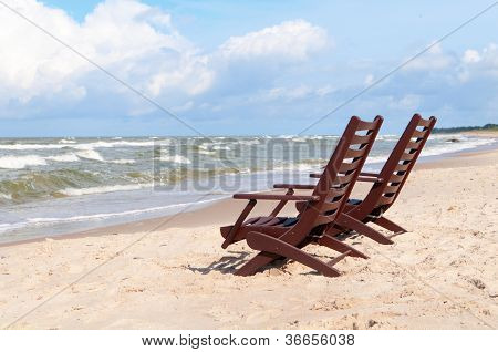 Chairs At The Beach 1