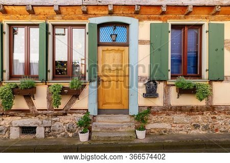 Old House In Oberwinter, Germany
