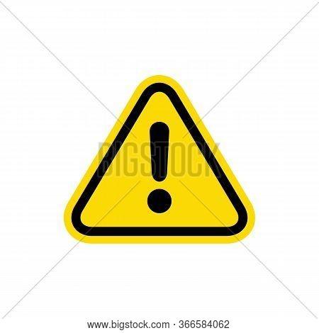 Attention Sign, Warning Caution Board, Alert Icon, Danger Symbol, Danger Warning Sign, Emergency Ale
