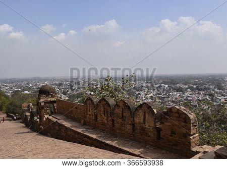 Gwalior City View From Gwalior Fort, Gwalior