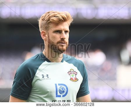 London, England - September 28, 2019: Stuart Armstrong Of Southampton Pictured Ahead Of The 2019/20