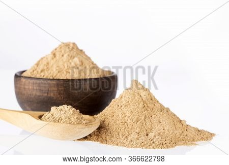 Phyllanthus Emblica - Amla Powder Ayurvedic Alternative Medicine. Text Space