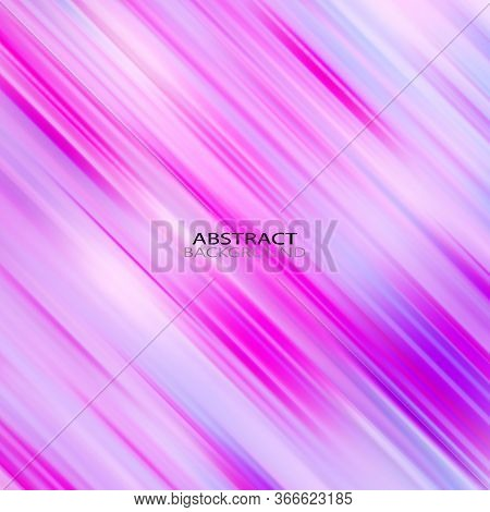 Abstract Line Background. Warm Color Geometric Backdrop With Thin Curvy Diagonal Lines. Futuristic S