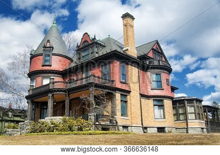 Victorian Mansion Located In Torrington Connecticut Located In Litchfield County.