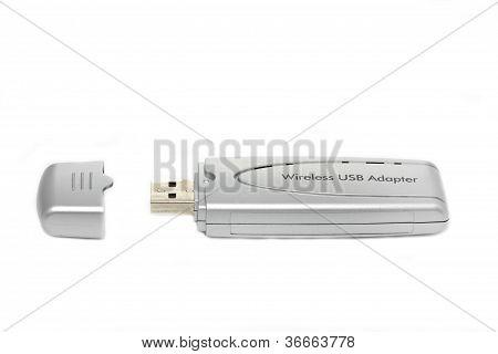 Portable wireless usb adapter