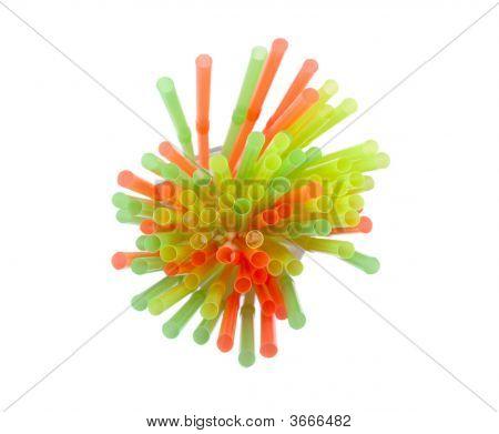 Plastic Drinking Straws