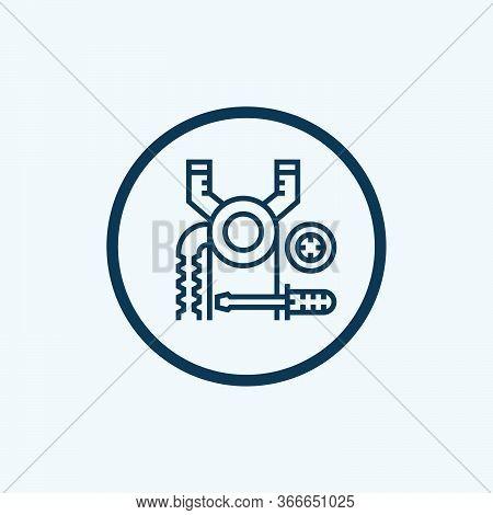 Maintenance Icon Isolated On White Background. Maintenance Icon Simple Sign. Maintenance Icon Trendy