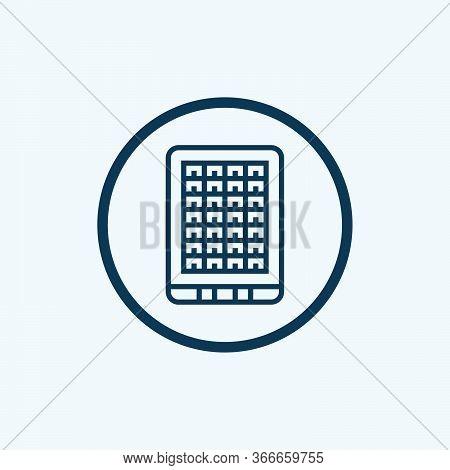 Solar Energy Icon In Trendy Design Style. Solar Energy Icon Isolated On White Background. Solar Ener