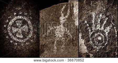 Three Rivers petroglyphs site