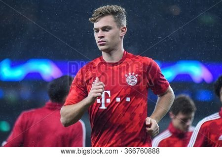 London, England - October 1, 2019: Joshua Kimmich Of Bayern Pictured Ahead Of The 2019/20 Uefa Champ