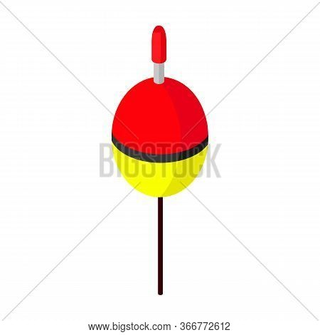 Fishing Float Vector Icon.isometric Vector Icon Isolated On White Background Fishing Float.