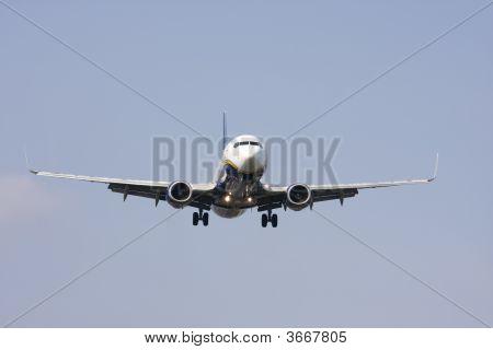 Twin Jet Landing