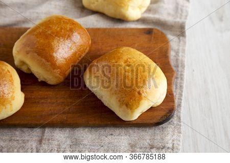 Bierock; Beef; Baked; Background; Bierocks; Appetizer; Cabbage; Bierok; Fresh; Food; Filled; Cheese;