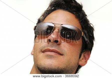 Male Model With Sunglasses