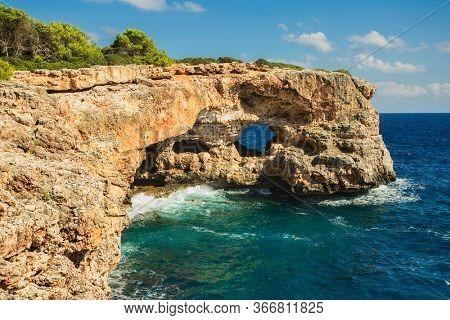 View On Rocks Hole Image Photo Free