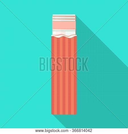Isolated Object Of Chewing And Stick Logo. Web Element Of Chewing And Fruit Stock Vector Illustratio